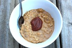 Overnight Pumpkin Pie Oats.