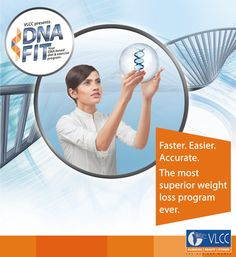 Studies have shown that a customized approach to weight loss which factors in a person's genetic make-up provides the best results - Our DNA FIT program does exactly that! Know more: http://www.vlccwellness.com/India/DNA+Fit/100/