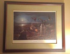 "#art Rare Limited Edition Wildlife Print #3154 ""Night Flight"" by Terry Redlin Signed please retweet"