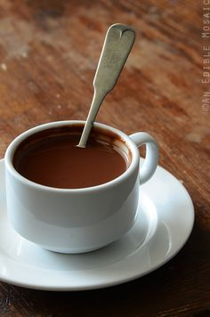 Parisian-Style Drinking Chocolate Recipe