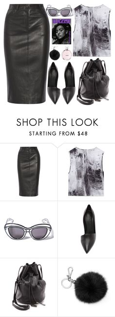 """""""254. The Magazine Editor"""" by ass-sass-in ❤ liked on Polyvore featuring Joseph, Helmut Lang, Ksubi, Vince, Halston Heritage, Michael Kors and Chanel"""