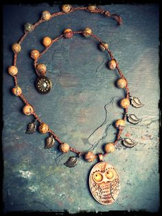 Who Me? - inspired by the new book Bohemian Inspired Jewelry