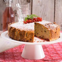 Ribisel-Zucchini-Kuchen » Kochrezepte von Kochen & Küche Banana Bread, Sweets, Desserts, Food, Zucchini Cake, Almonds, Oven, Dessert Ideas, Cooking Recipes