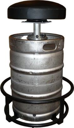 Wood Table With Keg Stand Home Decor Pinterest Wood