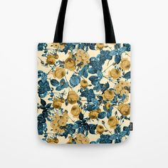 Check out society6curated.com for more! @society6 #floral #flowers #pattern #tote #totebag #bags #fashion #style #men #women #buy #shop #shopping #sale #gift #idea #cute #cool #nice #unique #fun #gift #idea #cool #beauty #beautiful #pretty #orange #blue #cream