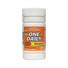 One Daily Womens, 100 Tabs  #Sexual_Health #Sleep #Weight_Loss #Women_Health #MenHealth #Supplements_In_Dubai #UAESupplements #Supplements_In_UAE #Vimax #VigRxPlus #Biomanix #MaleEnhancement #Male_Enhancement #Vitamin_Dubai #Herbs_UAE #Vitamins_UAE