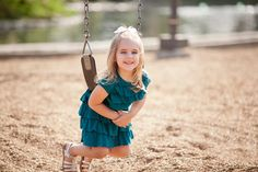Take family photos near a playground, giving your kids a break when they're getting tired. | Jason Comerford Photography