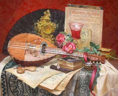 Watercolor still life by V.Kiryanova