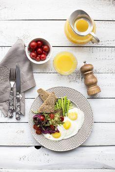 Яркий, красивый завтрак