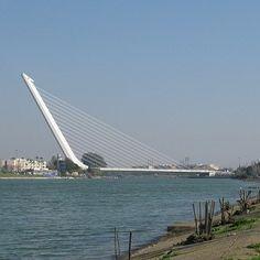 Cable Stayed Bridge, Andalusia, Bridges, Spain, Travel, Sevilla, Suspension Bridge, Viajes, Sevilla Spain