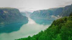 Landscape from Stegastein viewpoint, Aurandfjord, Norway Celine, Norway, River, Landscape, Outdoor, Camera, Outdoors, Scenery, Landscape Paintings