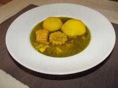 Caldo de papas y millo