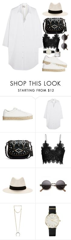 """""""Sin título #3891"""" by beel94 ❤ liked on Polyvore featuring rag & bone, Acne Studios, Coach 1941, H&M, 8 Other Reasons, ROSEFIELD and Byredo"""