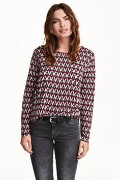 Bluză cu mâneci lungi | H&M