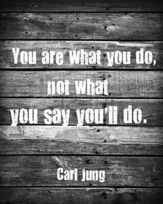 You are what you do... www.emergentstudiesinstitute.org