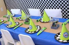 Monster Truck Birthday Party + Dessert Table | Spaceships and Laser Beams