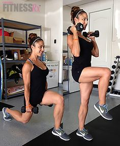 A perfect example of a combination exercise is a squat with a side lateral raise. The squat engages your lower body (quadriceps, hamstrings, calves, glutes) while the side lateral raise is targeting your side deltoid muscles. Body Fitness, Fitness Tips, Fitness Motivation, Health Fitness, Compound Exercises, Compound Lifts, Weight Training, Weight Loss Workout Plan, Weight Loss Meal Plan
