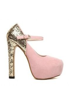 Sammydress Party Pumps With Color Matching High Heel Sequin Design
