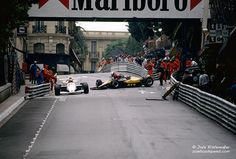 '84 Monaco, Senna and Winkelhock