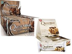 Quest Nutrition Bars Double Chocolate Chunk 12 ct  Cookie Dough 12 ct *** See this great product.