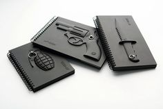 Black4 notebook (grenade, knife, handgun)