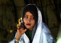 Tuareg girl Libya