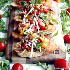 This is a quick, easy, delicious, classically Italian recipe for bruschetta. Made with fresh ingredients and all the tastes of Italy!
