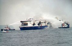 ATHENS, Greece (AP) — Greek coast guard says death toll from Greek ferry fire rises to Norman, Stormy Sea, Adriatic Sea, Corfu, Coast Guard, Albania, Athens, Greece, Places To Visit