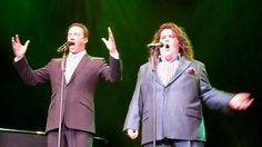 Russell Watson and Jonathan Antoine perform 'Ave Maria' at Preston Guildhall on Friday 6th December 2013 at a special concert in aid of The Katy Holmes Trust.