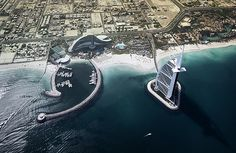 High above Dubai