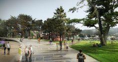 Five Proposals Unveiled for Presidio Parklands in San Francisco