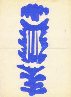 Henri Matisse, The Lyre, 1946.