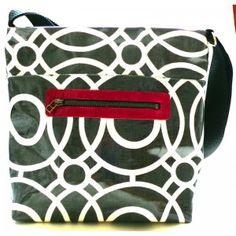 Mono - Tote Shoulder Bag  - just loaded up onto the website - yey! #handmade #oilcloth #handbag