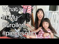 What's In My Diaper Bag/Stroller! | #piecesofm