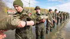 Canada's army looks to recruit reservists in face of dwindling numbers Canadian Soldiers, Army Reserve, Flood Damage, Paris Climate, Of Montreal, Water Damage, Great Lakes, Armed Forces, Open House