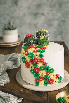 Margarita Cake with Salted Lime Frosting