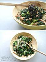 VALE DESIGN: mmm...Monday :: Quinoa, Crispy Kale & Zucchini Salad
