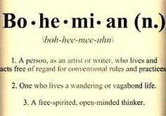 bohemian lifestyle quotes - Google Search