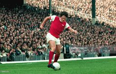 Arsenal defender Pat Rice in action during a League Division One match between Arsenal and. Bristol Rovers, Arsenal Fc, Arsenal Football, Division, Chelsea, The Past, How To Memorize Things, Action, Rice