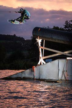 The Renovation | The Cable Rider : Steffen Vollert Photo : Ben Wiedenhofer #wakeboard #wakeboarding