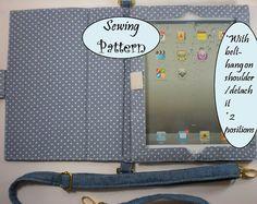 Gepolstertes IPad 1, 2, 3 (das neue Ipad), 4 (iPad mit Retina-Display) Cover Case Hülle w / Gürtel Tutorial (Schnittmuster Ebook) Nr. 1