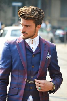 Mens fashion Mariano di vaio