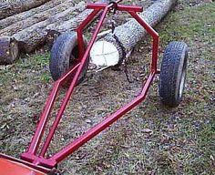 Arch log skidder