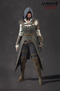ArtStation - Evie Frye Steampunk Outfit - Assassin'S Creed Syndicate, Sabin Lalancette