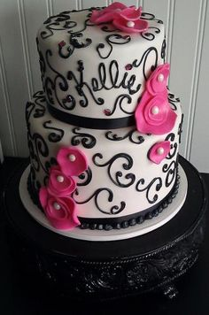 Fresno wedding cakes, cupcakes, cake pops, birthday cakes | Gallery | Frosted Cakery