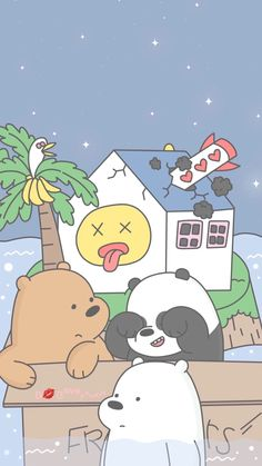 We Bare Bears Wallpaper For Iphone In 2019 We Bare Bears within We Bare Bears Wallpapers Iphone - All Cartoon Wallpapers Cute Disney Wallpaper, Cute Cartoon Wallpapers, Kawaii Wallpaper, Cute Wallpaper Backgrounds, Aesthetic Iphone Wallpaper, Ice Bear We Bare Bears, We Bear, We Bare Bears Wallpapers, Bear Wallpaper