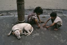 Ritual grew up in sacred play; poetry was born in play and nourished on play;  music and dancing were pure play…. We have to conclude, therefore, that civilization is, in its earliest phases, played… - Johan Huizinga (Photo India, Steve McCurry)