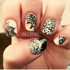 17 Lace Nail Art Ideas | fashionsy.com