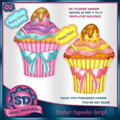 CU Easter Cupcake Script