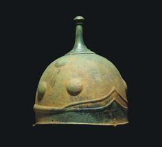 A Celtic Bronze Helmet with Knopped Finial | Flickr: Intercambio de fotos